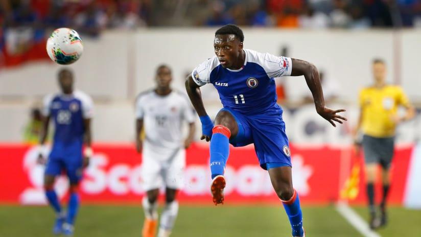 Derrick Etienne Jr Haiti