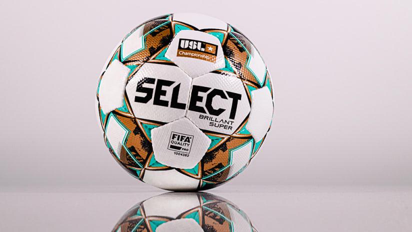 2021 USL Match Ball