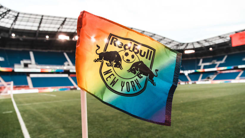 Red Bulls Celebrate LGBTQ+ Pride Month Culminating on July 17 at Red Bull Arena for Pride Night, pres. by Hackensack Meridian Health