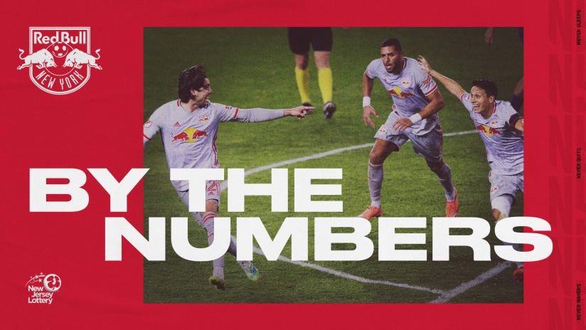 BY THE NUMBERS, pres. by NJ Lottery: New York Red Bulls vs. Sporting Kansas City
