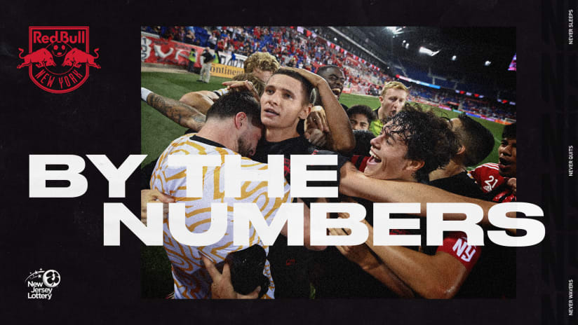 BY THE NUMBERS, pres. by NJ Lottery: NYCFC vs. New York Red Bulls