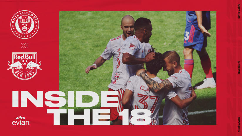 INSIDE THE 18, pres. by Evian: Red Bulls Ready for Second-Straight Away Match at New England