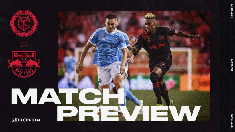 MATCH PREVIEW, pres. by Honda: Red Bulls Travel to Yankee Stadium for Their Second New York Derby of the Week