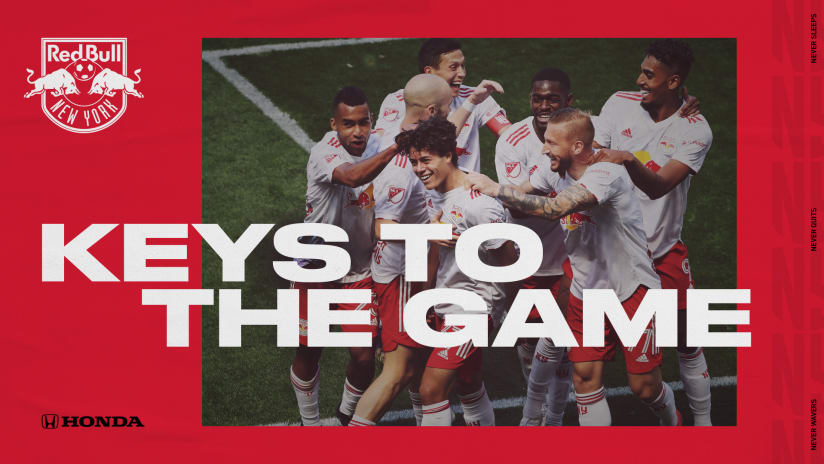 KEYS TO THE GAME, pres. by TriHonda Dealers: New England Revolution vs. New York Red Bulls