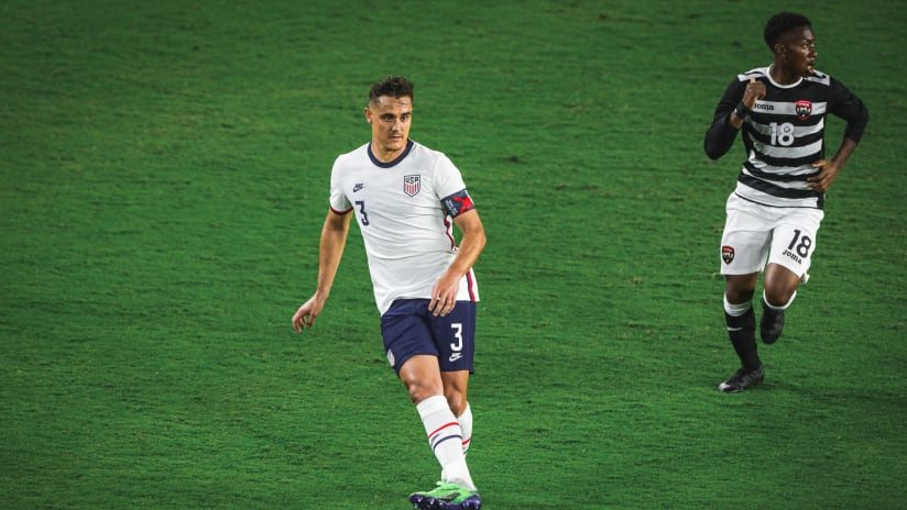 Aaron Long USMNT