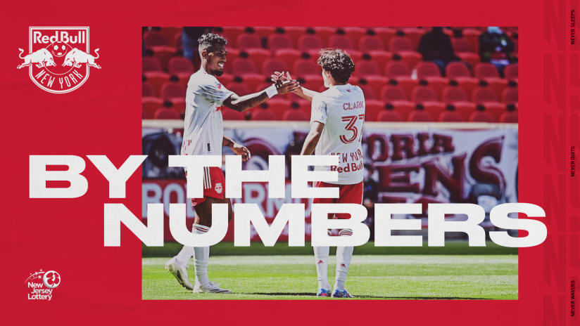 BY THE NUMBERS, pres. by NJ Lottery: New England Revolution vs. New York Red Bulls