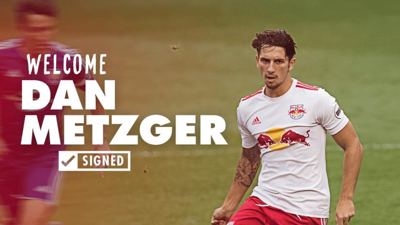 Welcome Dan Metzger Signed