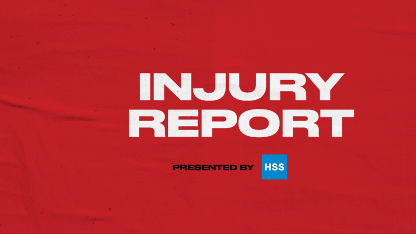 Injury Report 2020 Red