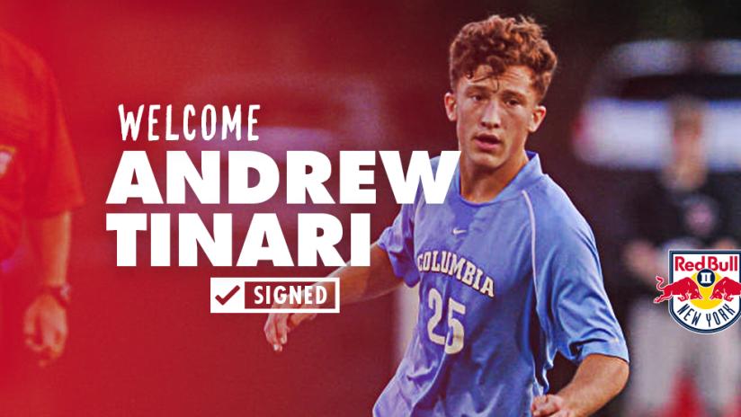Andrew Tinari Signed