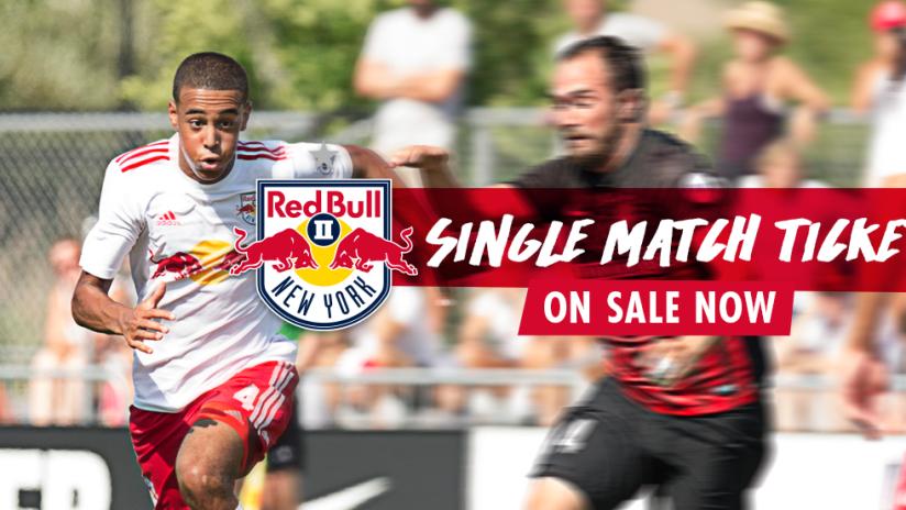 2017 NYRBII Single Match Tickets On Sale