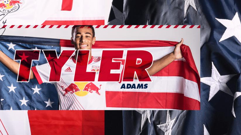 Tyler Adams USMNT 2018