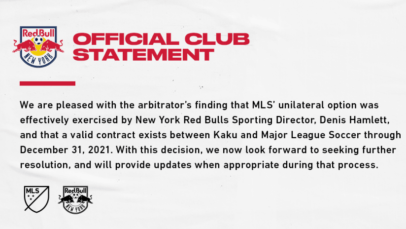 Official Club Statement | 04/03/21