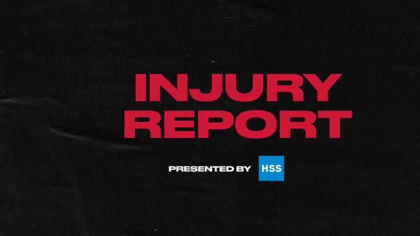 Injury Report 2020 Black