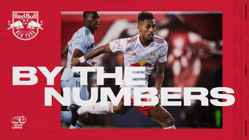 BY THE NUMBERS, pres. by NJ Lottery: Philadelphia Union vs. New York Red Bulls