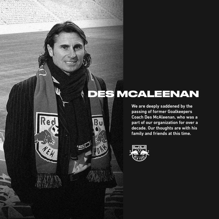 Rest In Peace, Des McAleenan -