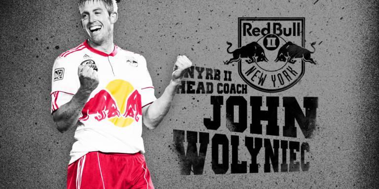 Red Bulls name John Wolyniec head coach of NYRB II -