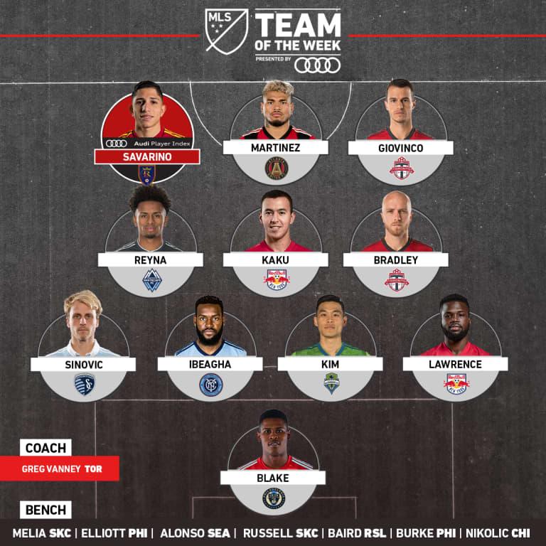 Kaku, Kemar Lawrence Named for MLS Team of the Week, pres. by Audi - https://league-mp7static.mlsdigital.net/images/2018-1x1-Audi-TOTW-_Week26.jpg