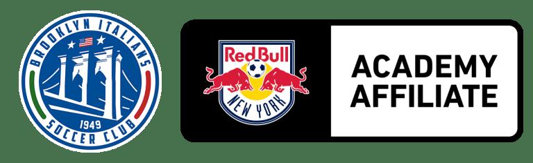 Brooklyn Italians x Academy Affiliate Logos