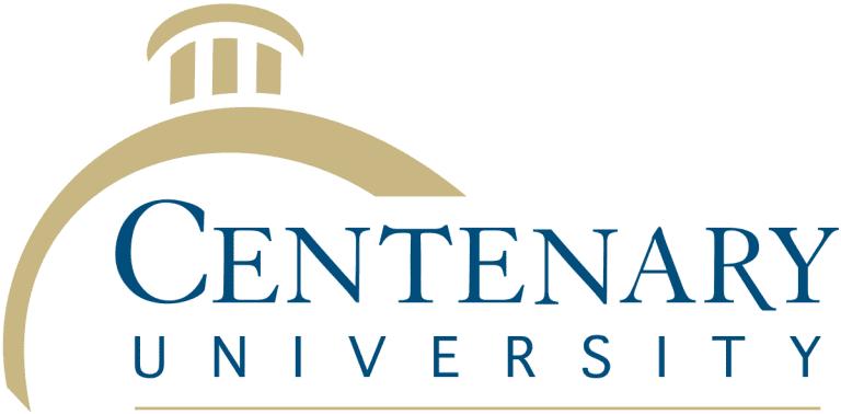 Centenary_University logo - WHITE