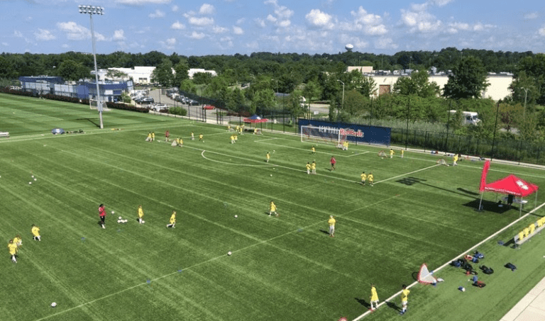 Red Bulls Training Facility - Training camps