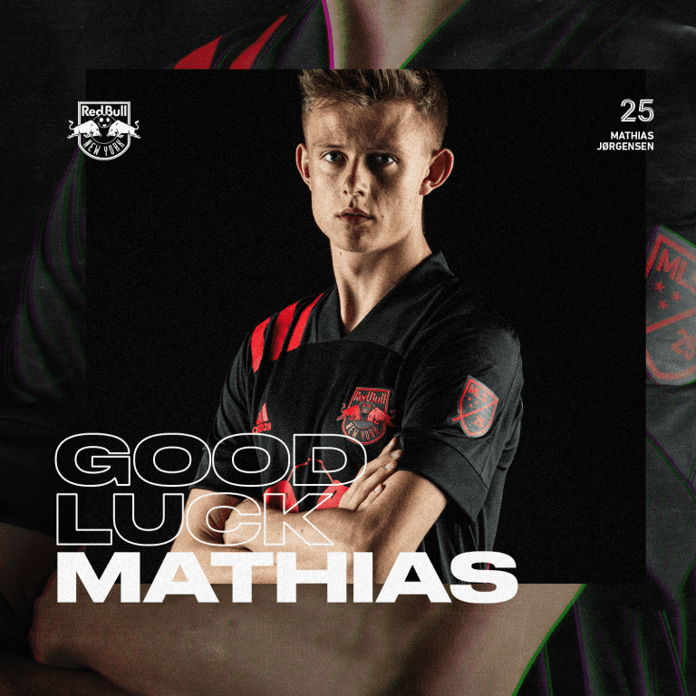 New York Red Bulls Loan Mathias Jørgensen to Aarhus Gymnastikforening -
